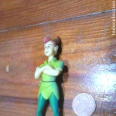 Figuras de Goma y PVC: VIEJA FIGURA DE GOMA O PVC,DE DISNEY BULLYLAND,PETER PAN. Lote 113302702