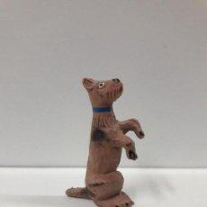 Figuras de Goma y PVC: PERRO - SERIE CIRCO . REALIZADO POR JECSAN . AÑOS 50 EN GOMA. Lote 113355431