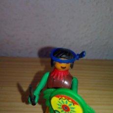 Figuras de Goma y PVC: COMAN BOYS INDIO COMPLETO. Lote 113394067