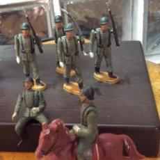 Figuras de Goma y PVC: TEIXIDÓ-DESFILE SOLDADOS ESPAÑOLES. Lote 113495503