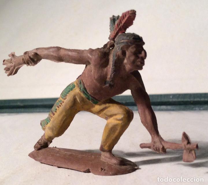 Figuras de Goma y PVC: PECH-INDIO, SERIE PEQUEÑA - Foto 3 - 113507119