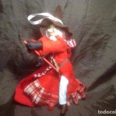 Figuras Kinder: MUÑECA BRUJA BELLINA KINDER LE FALTA LA PUNTA DE LA ESCOBA. Lote 113511123