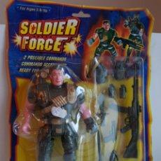 Figuras de Goma y PVC: SOLDIER FORCE SOLDADO DE BATALLA CON EQUIPAMIENTO DE BATALLA MEDIDAS MEDIDAS SOLDADO 19X9CMS. Lote 113600939