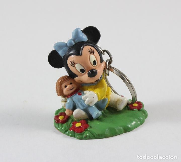 figura pvc llavero disney bebe mickey mouse minnie bully juguetes figuras de goma - Disney Bebe