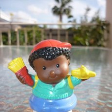 Figuras de Goma y PVC: FIGURA LITTLE PEOPLE FISHER PRICE MATTEL. Lote 113646055