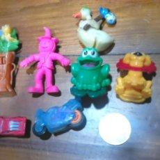 Figuras de Goma y PVC: LOTE DE 7,FIGURAS GOMA O PVC,TIPO DUNKIN, DISNEY, FERRERO,PINC,IDEAL COLECCIONISTAS. Lote 113712606