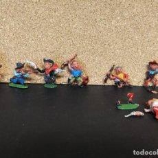 Figuras de Goma y PVC: LOTE BOYBIS INDIOS Y COWBOYS JECSAN. Lote 113812647