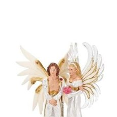 Figuras de Goma y PVC: SCHLEICH 70435 HADAS ELFOS SILFIDES FANTASIA PAREJA SIREEL Y SOLFUR . Lote 113821747