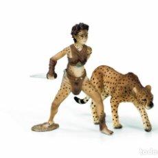 Figuras de Goma y PVC: SCHLEICH 70442 LIASSA CON LEOPARDO HADA FANTASIA BAYALA GUERRERA. Lote 113822491