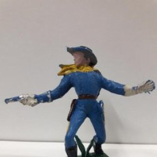 Figuras de Goma y PVC: SOLDADO FEDERAL . REALIZADO POR PECH / OLIVER . AÑOS 60 EN PLASTICO. Lote 113846755