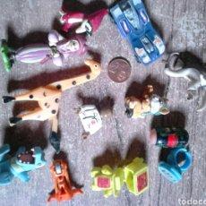 Figuras de Goma y PVC: LOTE 12 FIGURAS MUÑECOS,GOMA O PVC, TIPO DUNKIN,IDEAL COLECCIONISTAS. Lote 113931951