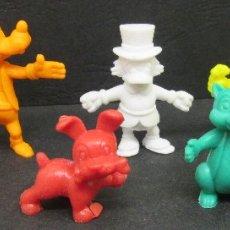 Figuras de Goma y PVC: LOTE 7 FIGURAS MONOCROMAS, PREMIUM, TIPO DUNKIN, WALT DISNEY - DANONE. Lote 75130607