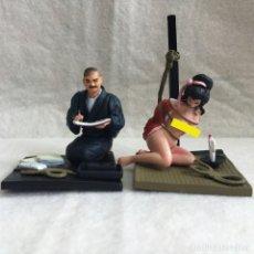 Figuras de Goma y PVC: FIGURAS BDSM ADULTOS JAPON BONDAGE CAJA SORPRESA PREMIUM. Lote 113996351