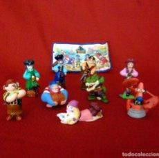 Figuras Kinder: KINDER 2008 MONSTRUOS Y PIRATAS. SERIE COMPLETA + 1 BPZ. Lote 114082883