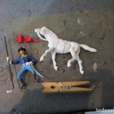 Figuras de Goma y PVC: FIGURA CABALLERIA JECSAN REAMSA PECH. Lote 114100939