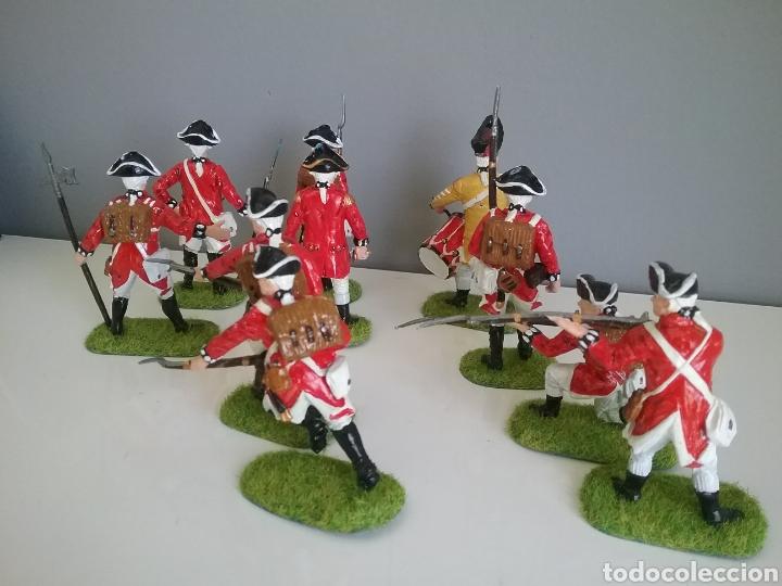 Figuras de Goma y PVC: Soldados británicos guerra independencia americana AWI , ACCURATE Figures en escala Britains - Foto 5 - 114295035