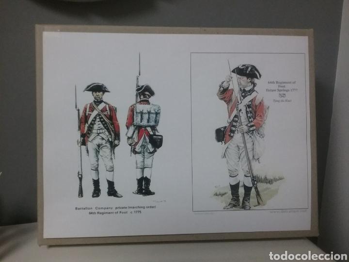 Figuras de Goma y PVC: Soldados británicos guerra independencia americana AWI , ACCURATE Figures en escala Britains - Foto 9 - 114295035