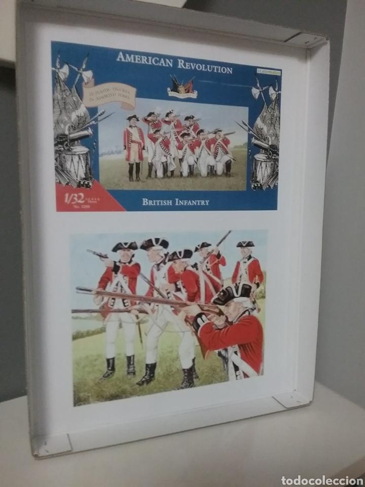 Figuras de Goma y PVC: Soldados británicos guerra independencia americana AWI , ACCURATE Figures en escala Britains - Foto 10 - 114295035