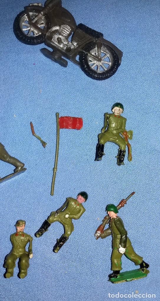 Figuras de Goma y PVC: ANTIGUAS FIGURAS TORRES MALTA PECH TEIXIDO DESFILE PLASTICO ARTICULADAS ORIGINALES - Foto 2 - 114299267
