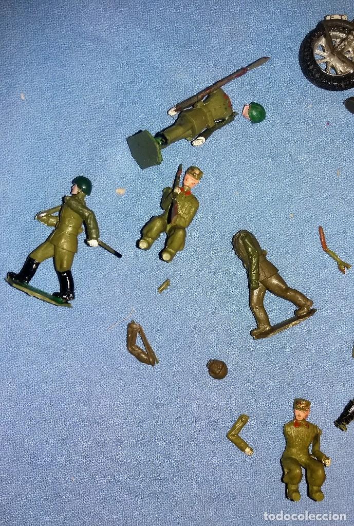 Figuras de Goma y PVC: ANTIGUAS FIGURAS TORRES MALTA PECH TEIXIDO DESFILE PLASTICO ARTICULADAS ORIGINALES - Foto 3 - 114299267