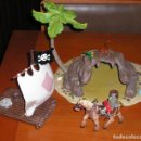 Figuras de Goma y PVC: ISLA PIRATA MARCA PAPO REF. 39413. Lote 114324579