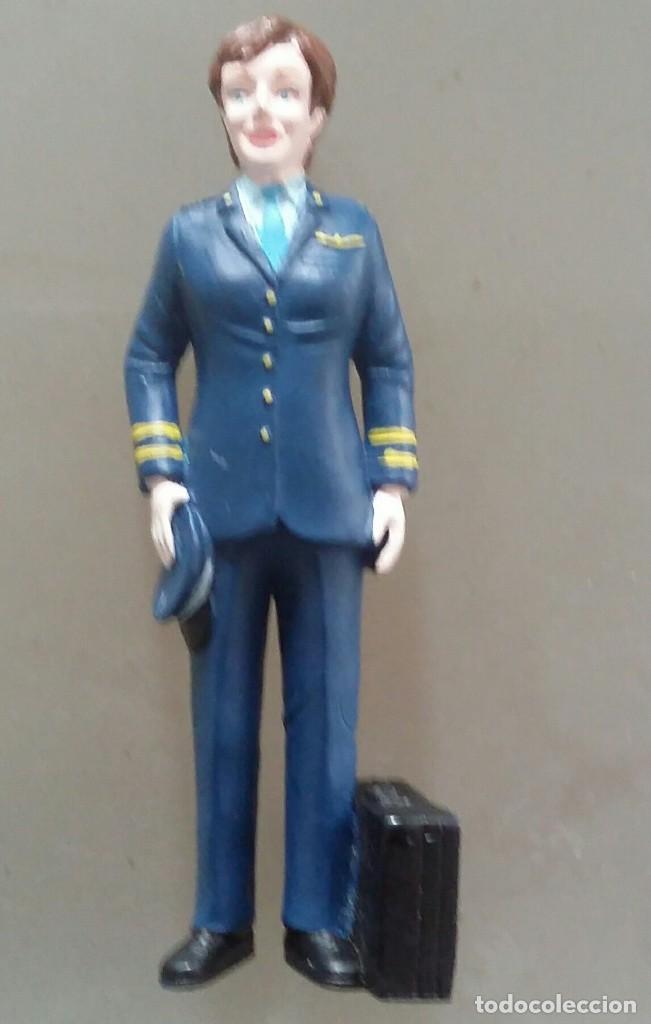 cb2a690079 figura de piloto de goma. muñeco aviador - Comprar Otras Figuras de ...