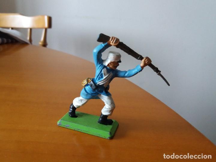 Figuras de Goma y PVC: Figura soldado Legión extranjera. Britains LTD. 1971. Made in England. - Foto 2 - 114344279
