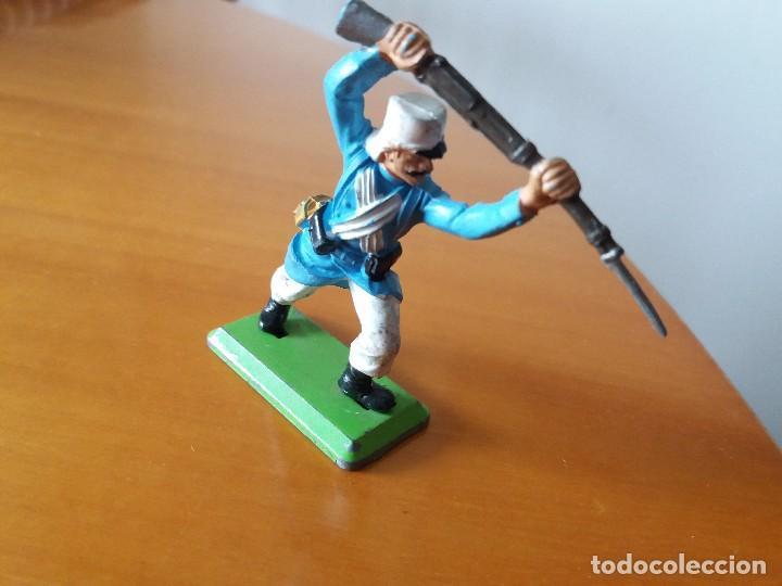 Figuras de Goma y PVC: Figura soldado Legión extranjera. Britains LTD. 1971. Made in England. - Foto 4 - 114344279