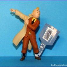 Figuras de Goma y PVC: TINTIN FIGURAS EN PVC MOULINSART FIGURA TINTIN. Lote 114436787