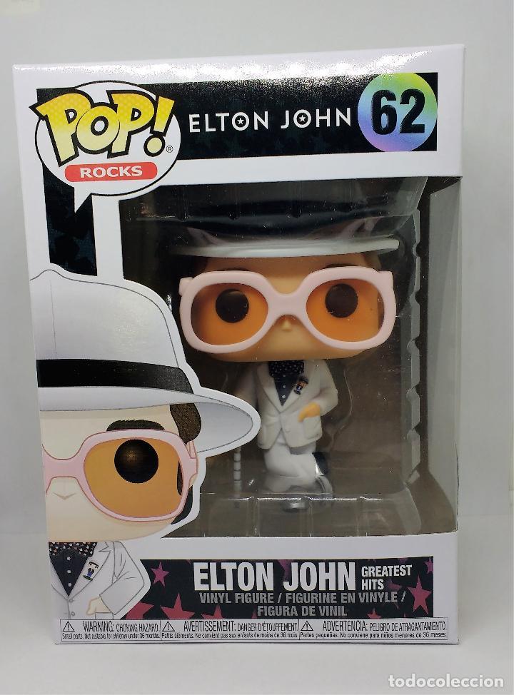 FUNKO FUNKO FIGURA POP ROCKS ELTON JOHN 62 (Juguetes - Figuras de Goma y Pvc - Otras)