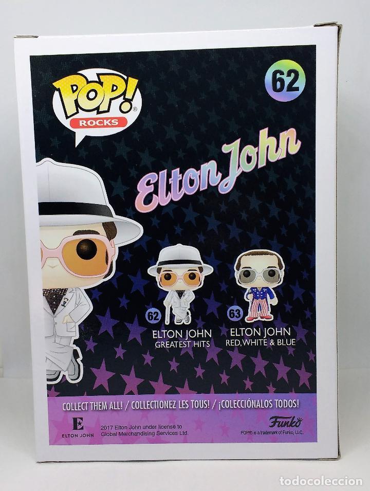 Figuras de Goma y PVC: FUNKO FUNKO Figura POP Rocks Elton John 62 - Foto 3 - 114444851