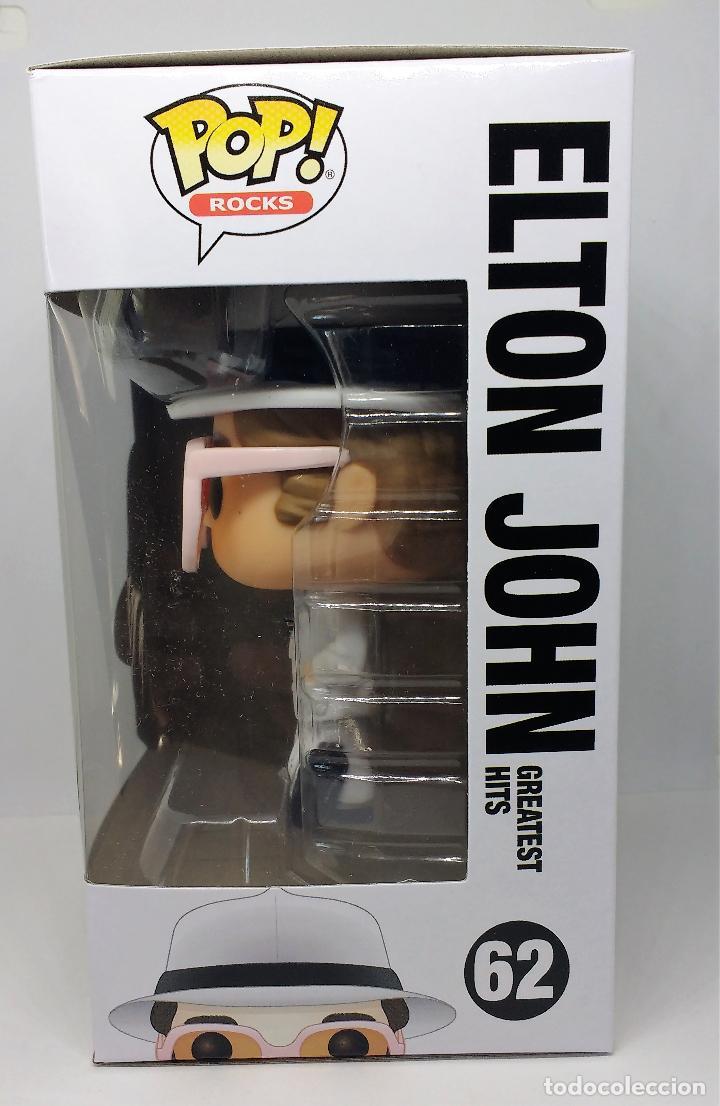 Figuras de Goma y PVC: FUNKO FUNKO Figura POP Rocks Elton John 62 - Foto 4 - 114444851