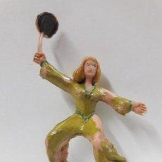 Figuras de Goma y PVC: FIGURA DE SIGRID . SERIE EL CAPITAN TRUENO . REALIZADA POR ESTEREOPLAST . AÑOS 60. Lote 114466167