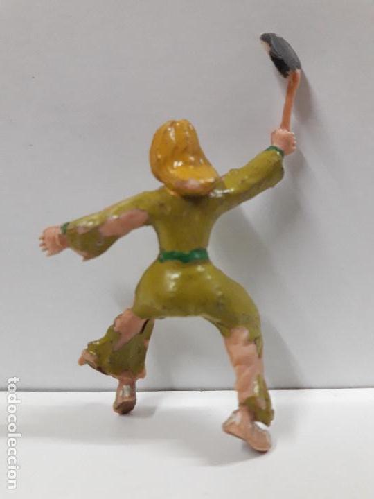 Figuras de Goma y PVC: FIGURA DE SIGRID . SERIE EL CAPITAN TRUENO . REALIZADA POR ESTEREOPLAST . AÑOS 60 - Foto 2 - 114466167