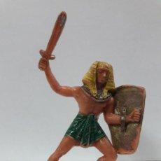 Figuras de Goma y PVC: GUERRERO EGIPCIO . REALIZADO POR JECSAN . AÑOS 60. Lote 114466567