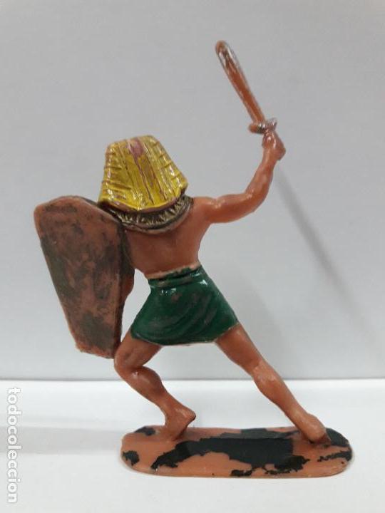 Figuras de Goma y PVC: GUERRERO EGIPCIO . REALIZADO POR JECSAN . AÑOS 60 - Foto 2 - 114466567