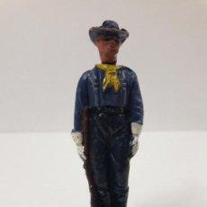 Figuras de Goma y PVC: SOLDADO FEDERAL . SERIE DESCABEZADOS . REALIZADO POR JECSAN AÑOS 50 EN GOMA. Lote 114467147