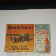 Figuras de Goma y PVC: TIPO MONTAPLEX MEXICANO REFRESCOS PASCUAL. Lote 114636546