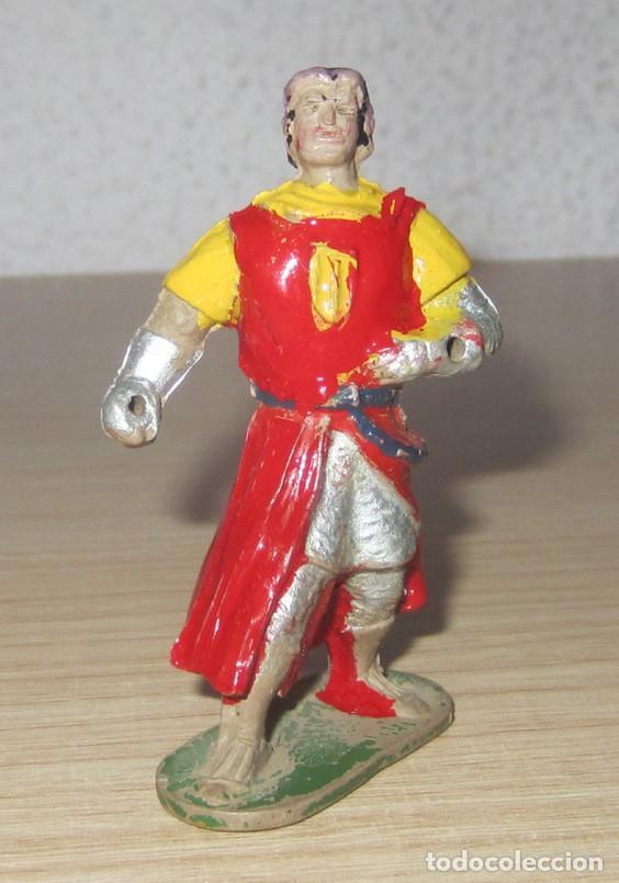Figuras de Goma y PVC: CAPITAN TRUENO Y GOLIAT ANTIGUAS ORIGINALES, GOMA ESTEREOPLAST - Foto 3 - 114653247