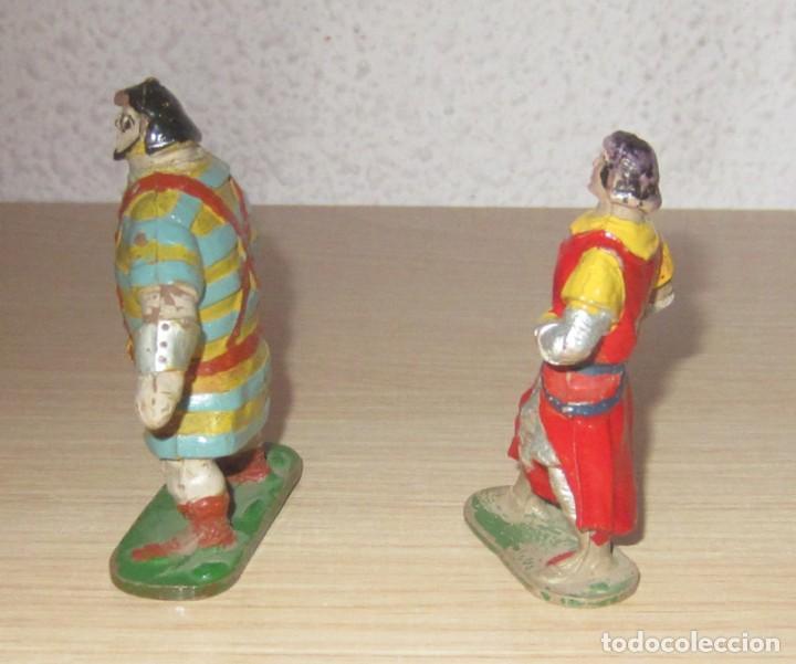Figuras de Goma y PVC: CAPITAN TRUENO Y GOLIAT ANTIGUAS ORIGINALES, GOMA ESTEREOPLAST - Foto 4 - 114653247