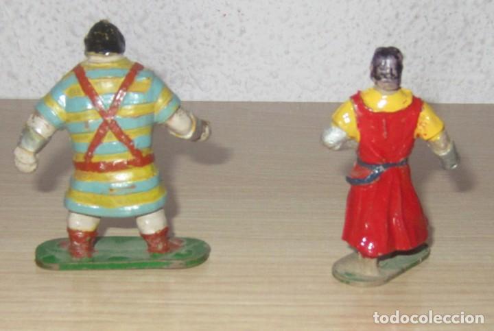 Figuras de Goma y PVC: CAPITAN TRUENO Y GOLIAT ANTIGUAS ORIGINALES, GOMA ESTEREOPLAST - Foto 5 - 114653247