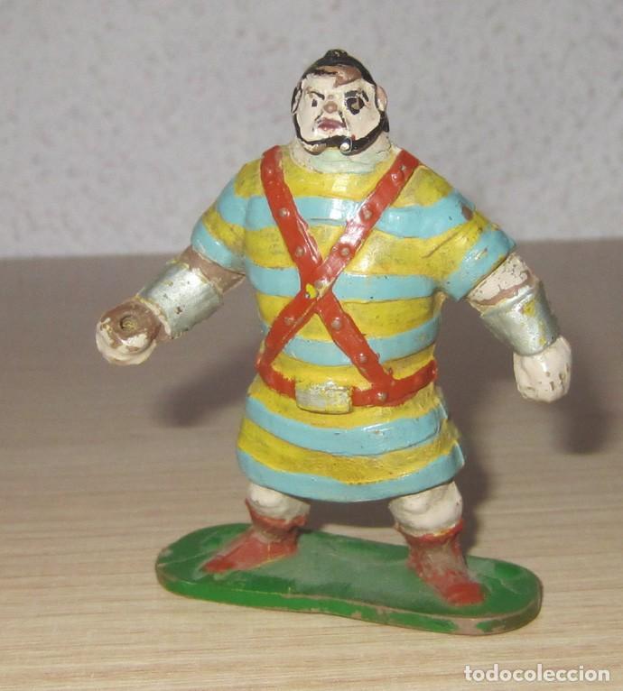 Figuras de Goma y PVC: CAPITAN TRUENO Y GOLIAT ANTIGUAS ORIGINALES, GOMA ESTEREOPLAST - Foto 6 - 114653247