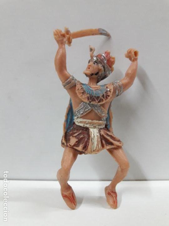 FIGURA PARA CABALLO . SERIE EL JABATO . REALIZADA POR ESTEREOPLAST . AÑOS 60 (Juguetes - Figuras de Goma y Pvc - Estereoplast)