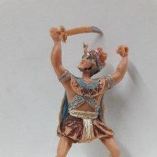 Figuras de Goma y PVC: FIGURA PARA CABALLO . SERIE EL JABATO . REALIZADA POR ESTEREOPLAST . AÑOS 60. Lote 114708143