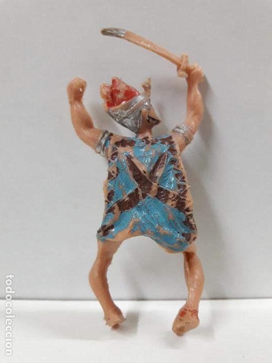 Figuras de Goma y PVC: FIGURA PARA CABALLO . SERIE EL JABATO . REALIZADA POR ESTEREOPLAST . AÑOS 60 - Foto 2 - 114708143