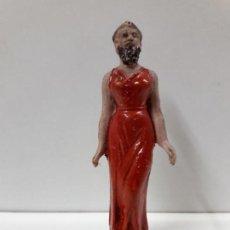 Figuras de Goma y PVC: LA MUJER BARBUDA. SERIE CIRCO . REALIZADA POR JECSAN . AÑOS 50 EN GOMA. Lote 114709539