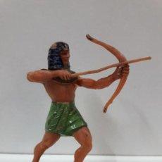 Figuras de Goma y PVC: GUERRERO EGIPCIO . REALIZADO POR JECSAN . AÑOS 60. Lote 114798139