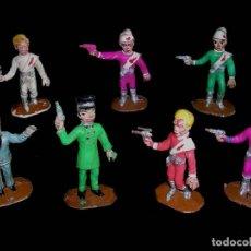 Figuras de Goma y PVC: CONJUNTO LOS THUNDERBIRDS GUARDIANES DEL ESPACIO, FABRICADOS EN PLÁSTICO, COMANSI, ORIGINAL AÑOS 60.. Lote 113371919