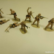 Figuras de Goma y PVC: 918- FIGURA( LOTE DE SOLDADOS COMANSI ??) AÑOS 70/80. Lote 114895503