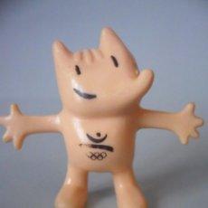 Figuras de Goma y PVC: COBI BARCELONA 92 FIGURA DE PVC DE 6 CM COOB 92 COMANSI 1988. Lote 114904035
